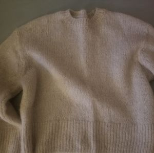 H&M wool alpaca blend sweater
